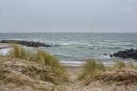 Baltic Sea coast Skagen Denmark 2