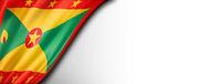 Grenada flag isolated on white banner