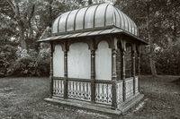 The old pavilion in the park