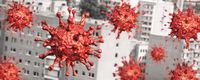 Virus attack in city