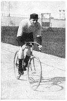 The World Sprint Champions of 1897 (ICA Track Cycling World Championships) - Willy Arend.