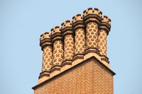 Ornamental chimneys