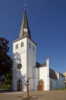 Evangelical Church Orsoy, Rheinberg, Lower Rhine, North Rhine-Westphalia, Germany, Europe
