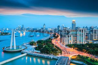 dreamy modern city