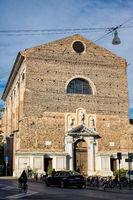 Padua, Italy - March 19, 2019 - Basilica of Santa Maria of Carmine