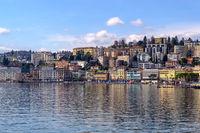 Lake Lugano in Spring