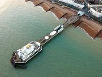 Eastbourne Pier, United Kingdom - Aerial Photograph