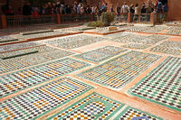 Saadian Tombs, Marrakesh
