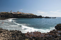 Playa de la Arena in Alcala, Tenerife, Canary Islands, Spain, Europe