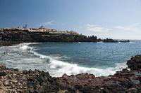 Playa de la Arena in Alcala, Tenerife, Canary Islands, Spain, Europe