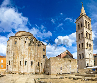 Zadar cathedral famous landmark of Croatia