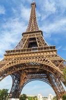 Eiffel Tower in Paris portrait orientation