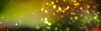 lights pattern motif, beautiful bokeh background banner