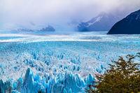 The glacier Perito Moreno