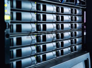 Hard drives in data center