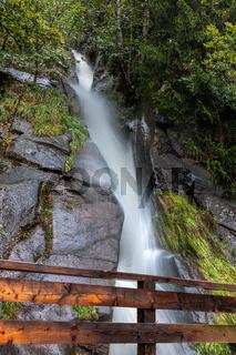 Wasserfall in Hafling bei Meran, Suedtirol