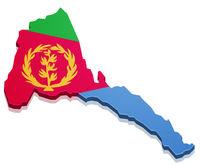 Map Eritrea