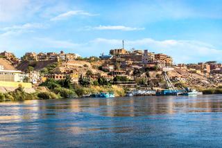Houses in Aswan