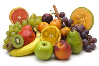 Obstteller, Obstschale mit frischen Früchten