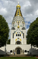 Russian Memorial Church, St. Alexi Memorial Church of Russian Honour, Leipzig, Saxony, Germany