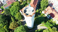 Aerial view of the flour sack in Ravensburg