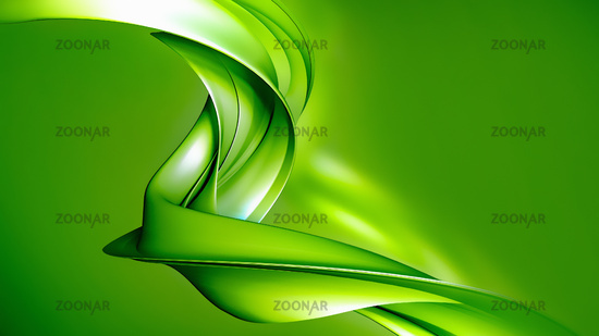3D Abstract natural background