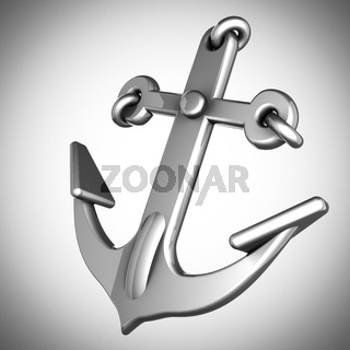 metallic anchor