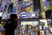CUBA HAVANA HAMEL STREET