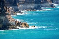 Great Australian Bight area at south Australia