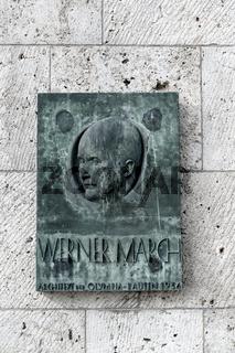 Architekt Werner March, Olympiastadion Berlin