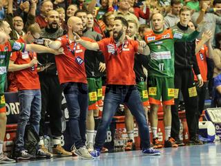 Cheftrainer Bennet Wiegert, SC Magdeburg, Liqui Moly HBL, Handball-Bundesliga Saison 2019-20
