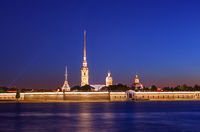 Peter-Pavel's Fortress in Saint-Petersburg - Russia