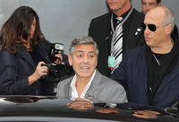 George Clooney presents Monuments Men at Berlinale