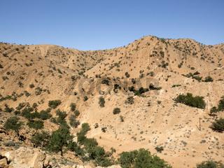 Guelmim, Halbwüste, Marokko