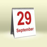 September 29th | 29.September