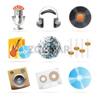 Icons for sound