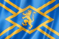 East Lothian County flag, UK
