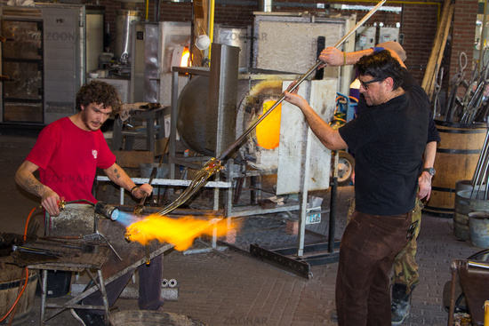 Traditional Glass blowing