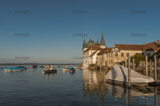 The Turmhof in Steckborn, Lake Constance, Canton Thurgau, Switzerland