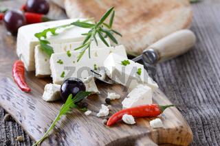 Griechische Käsebrotzeit