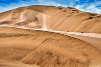 dunes in the Namib-desert