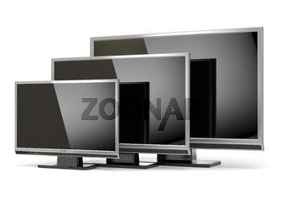 TV flat screen lcd or plasma. .Digital broadcasting television.
