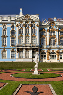 St. Petersburg Russia. Catherine Palace Tsarkoe Selo in Pushkin