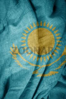 State flag of Kazakhstan