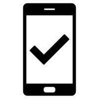 Haken und Smartphone - Tick and smartphone