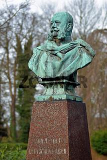 Reichskanzler Otto Fürst von Bismarck in Bergedorf
