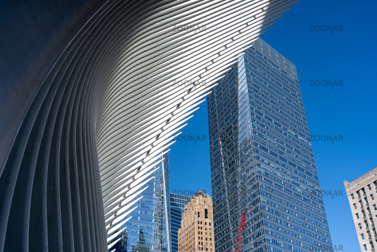 WTC Station Oculus Roof Structure