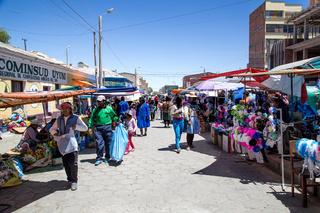 Local Market in Uyuni, Bolivia