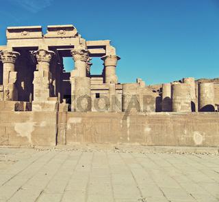Temple of Kom Ombo ruins, Egypt
