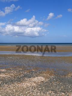 Strand von  Quineville, Normandy